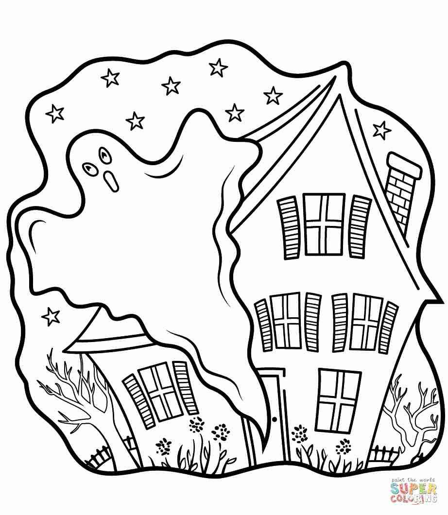coloring pages ghost coloring pages halloween ghost at getcoloringscom free ghost pages coloring