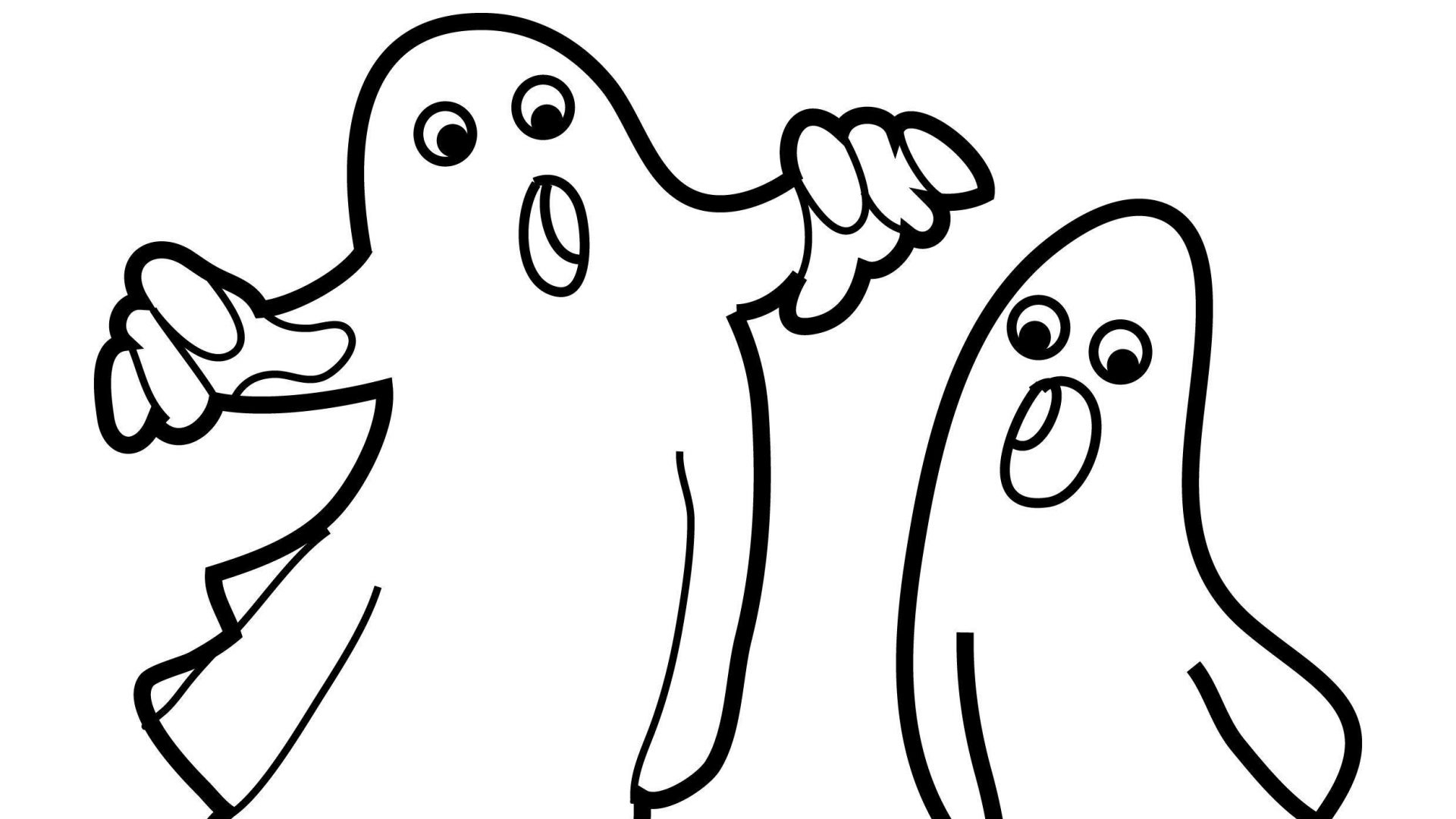 coloring pages ghost ghost coloring pages for kids at getcoloringscom free pages ghost coloring