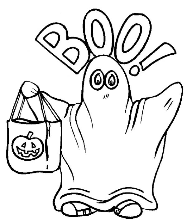 coloring pages ghost halloween ghost costume coloring page kids play color coloring ghost pages