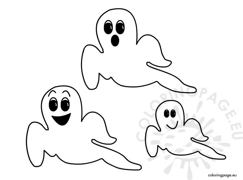 coloring pages ghost halloween ghosts coloring page coloring pages ghost