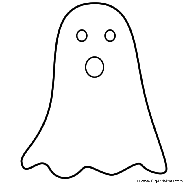 coloring pages ghost simple ghost coloring page halloween coloring ghost pages