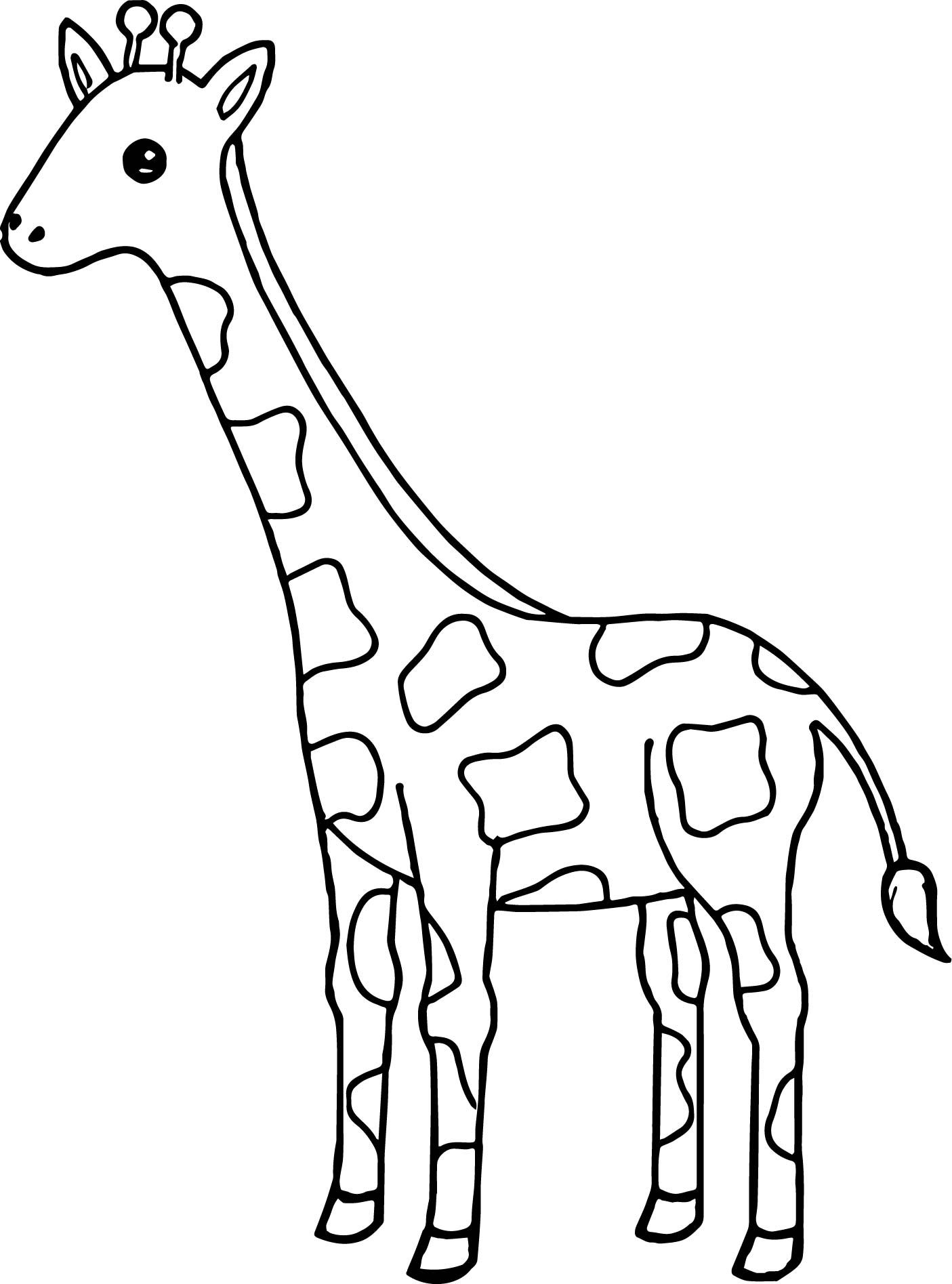 coloring pages giraffe baby giraffe coloring sheets clipart best coloring pages giraffe