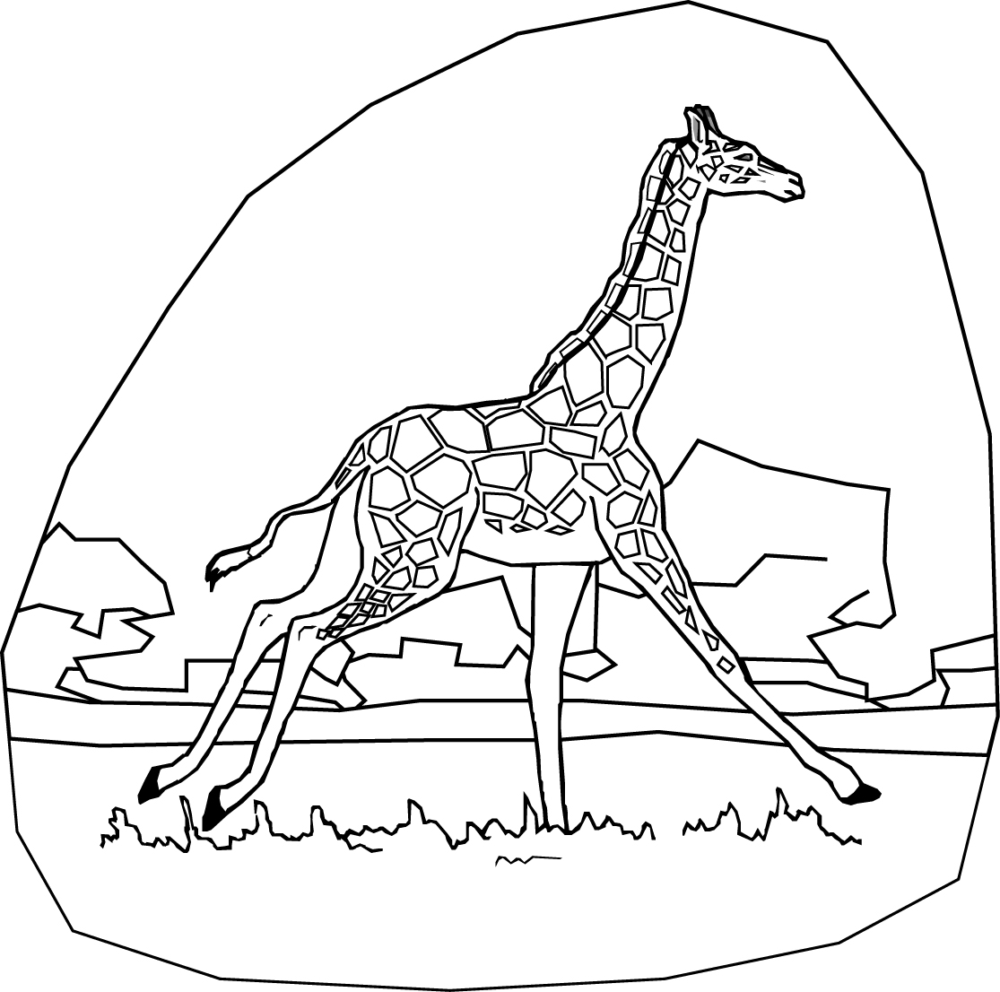 coloring pages giraffe soulmetalpodcast giraffe for coloring coloring pages giraffe