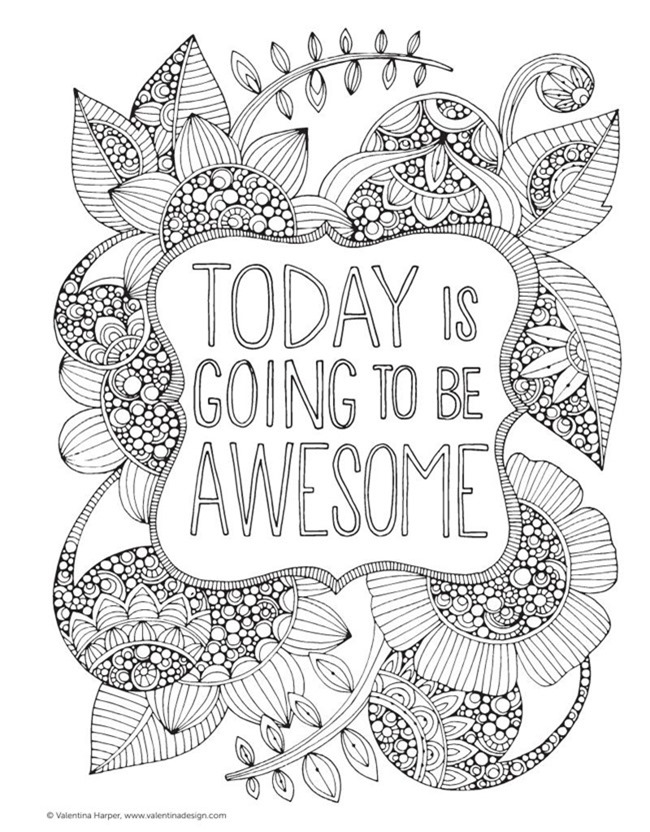 coloring pages inspirational 12 inspiring quote coloring pages for adultsfree coloring inspirational pages 1 1