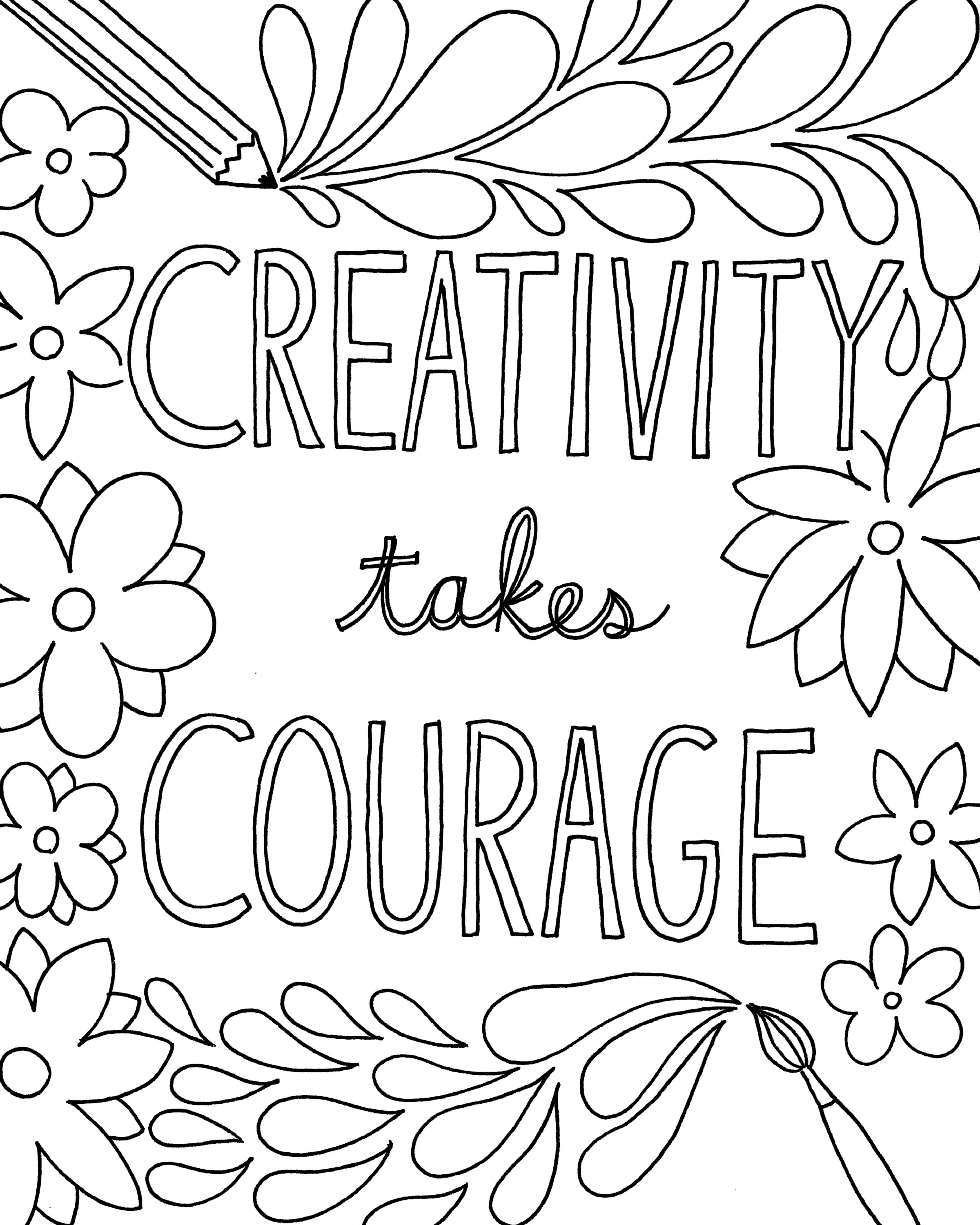 coloring pages inspirational motivational quotes coloring pages quotesgram pages inspirational coloring