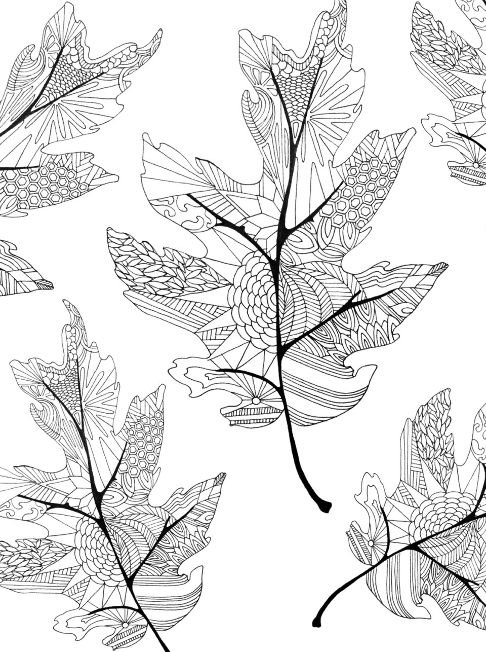 coloring pages leaves fall coloring pages twineandtable pages leaves fall coloring