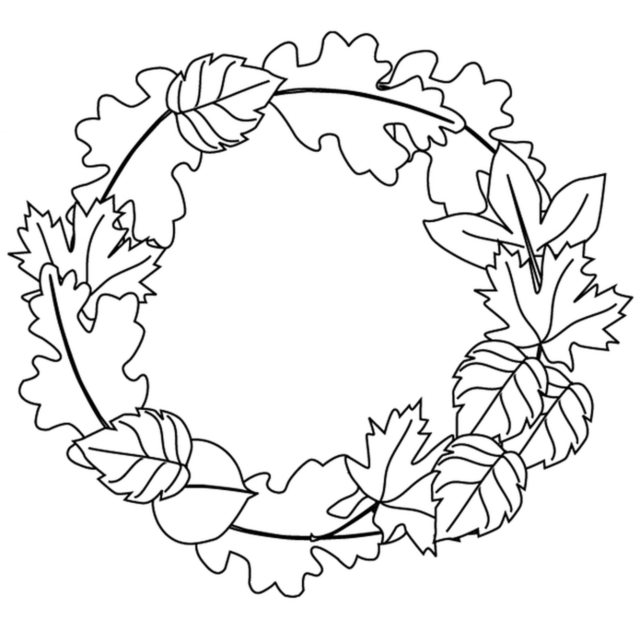 coloring pages leaves fall easy preschool fall leaves coloring pages leaves pages coloring fall