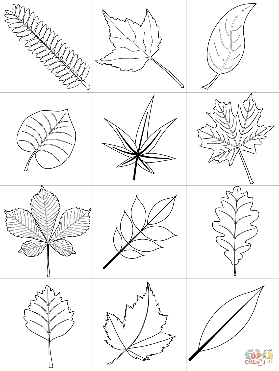 coloring pages leaves fall fall leaves coloring pages getcoloringpagescom coloring leaves fall pages