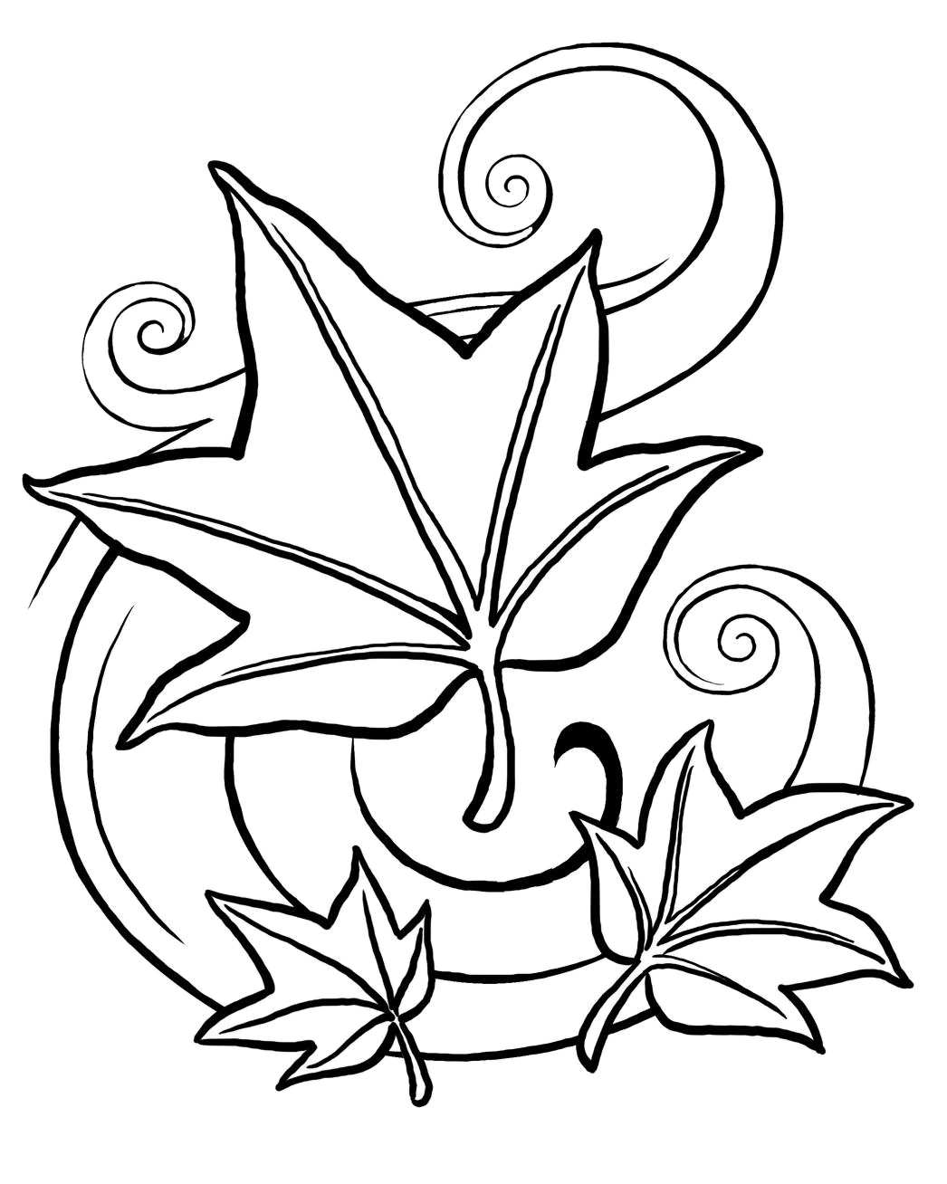 coloring pages leaves fall leaf coloring pages for preschool at getcoloringscom fall leaves coloring pages