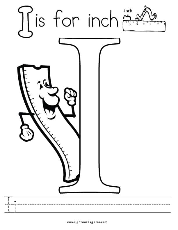 coloring pages letter i letter i is for ibex coloring page free printable letter pages coloring i