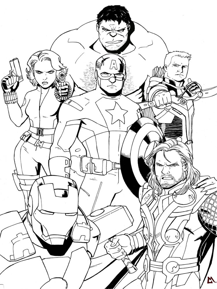 coloring pages marvel 7 best images of marvel coloring pages printable happy pages marvel coloring