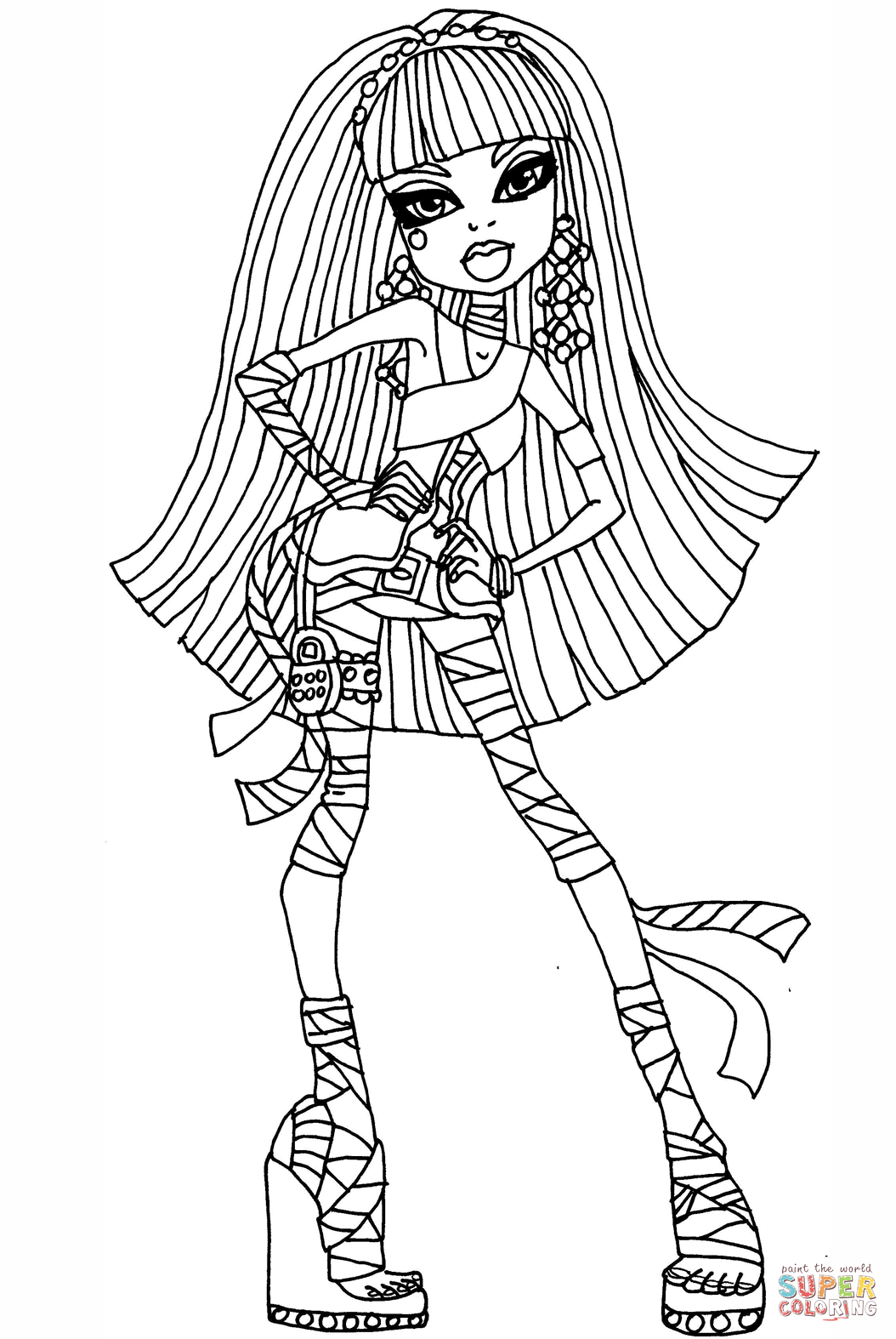 coloring pages monster high värityskuva kids n funcom coloring page monster high monster high girls pages coloring värityskuva monster high