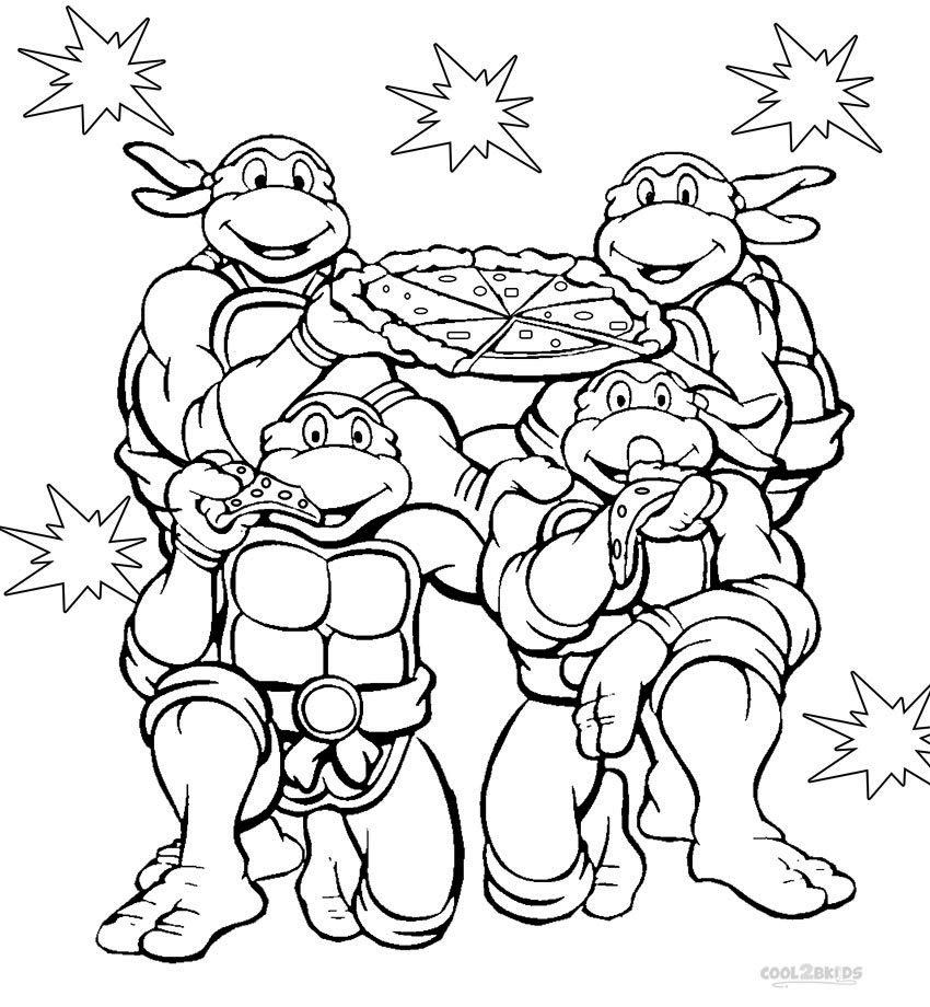 Coloring pages nickelodeon