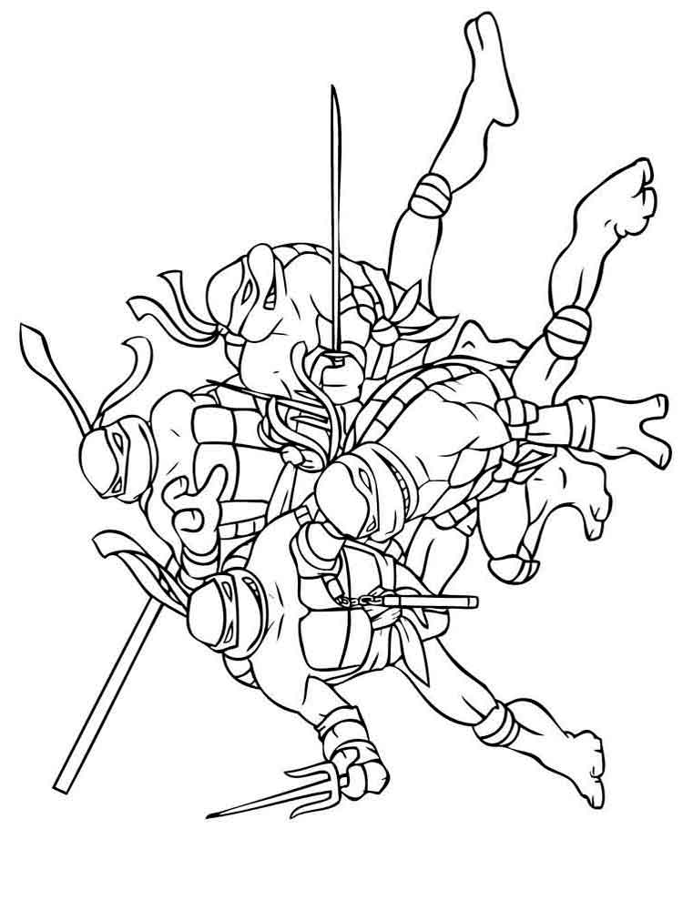 coloring pages ninja turtles mutant ninja turtles coloring pages download and print turtles ninja coloring pages