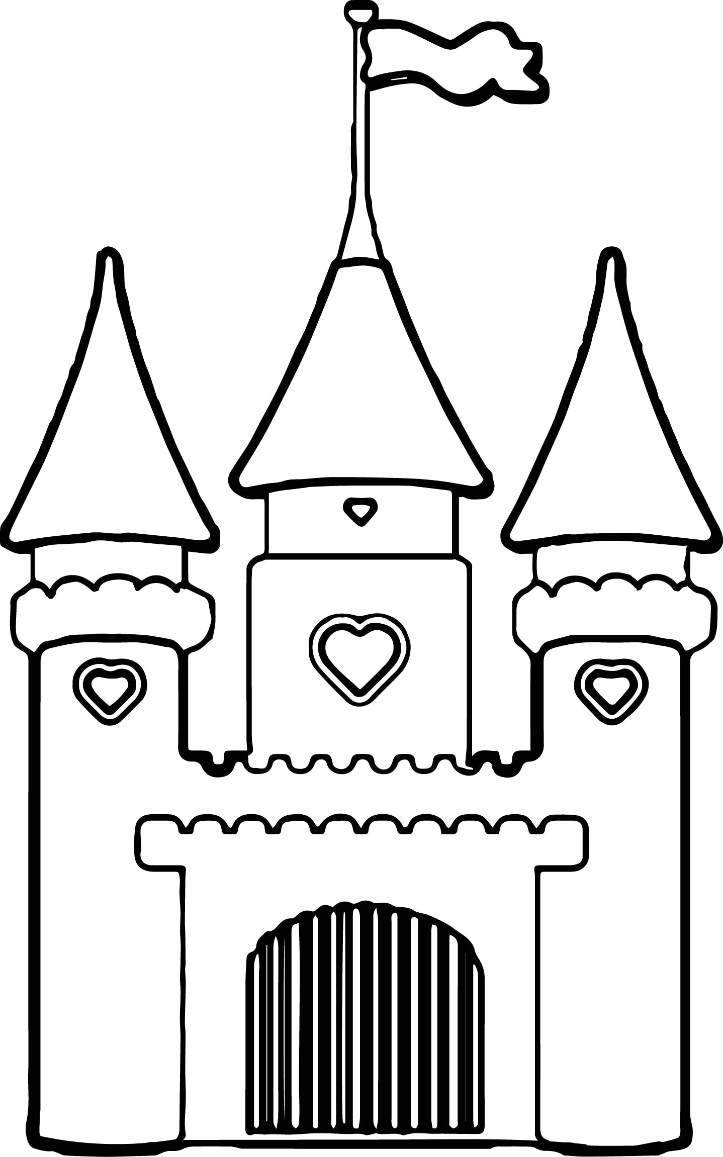 coloring pages of a castle cinderella castle drawing free download on clipartmag castle coloring a pages of