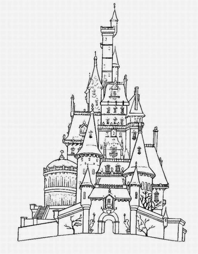 coloring pages of a castle disney castle coloring pages disney coloring pages a coloring pages castle of