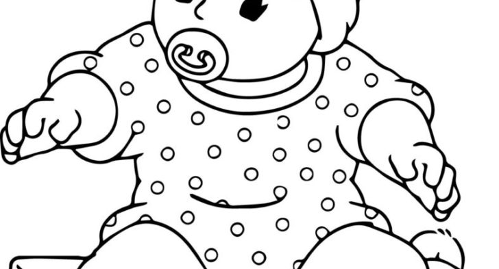coloring pages of babies bitty baby coloring pages at getcoloringscom free of babies pages coloring
