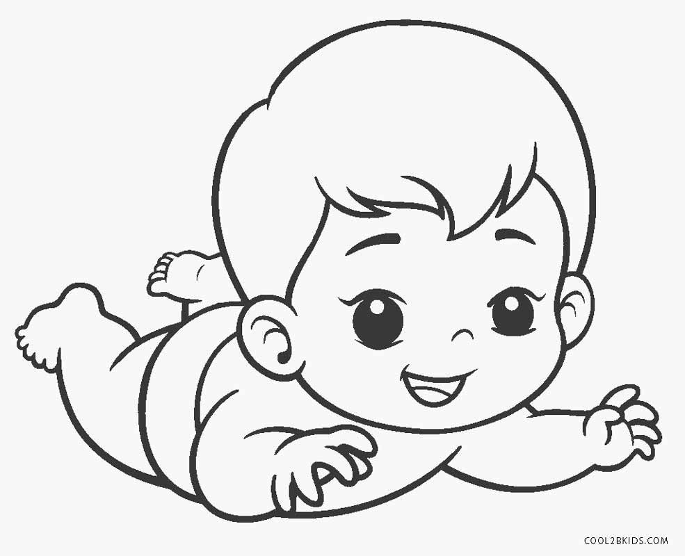 coloring pages of babies free printable baby coloring pages for kids babies of coloring pages