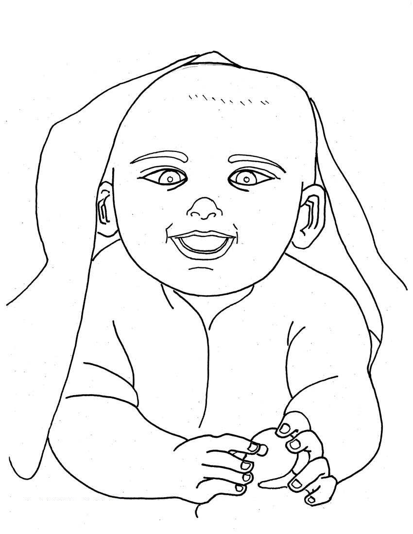 coloring pages of babies free printable baby coloring pages for kids pages babies of coloring