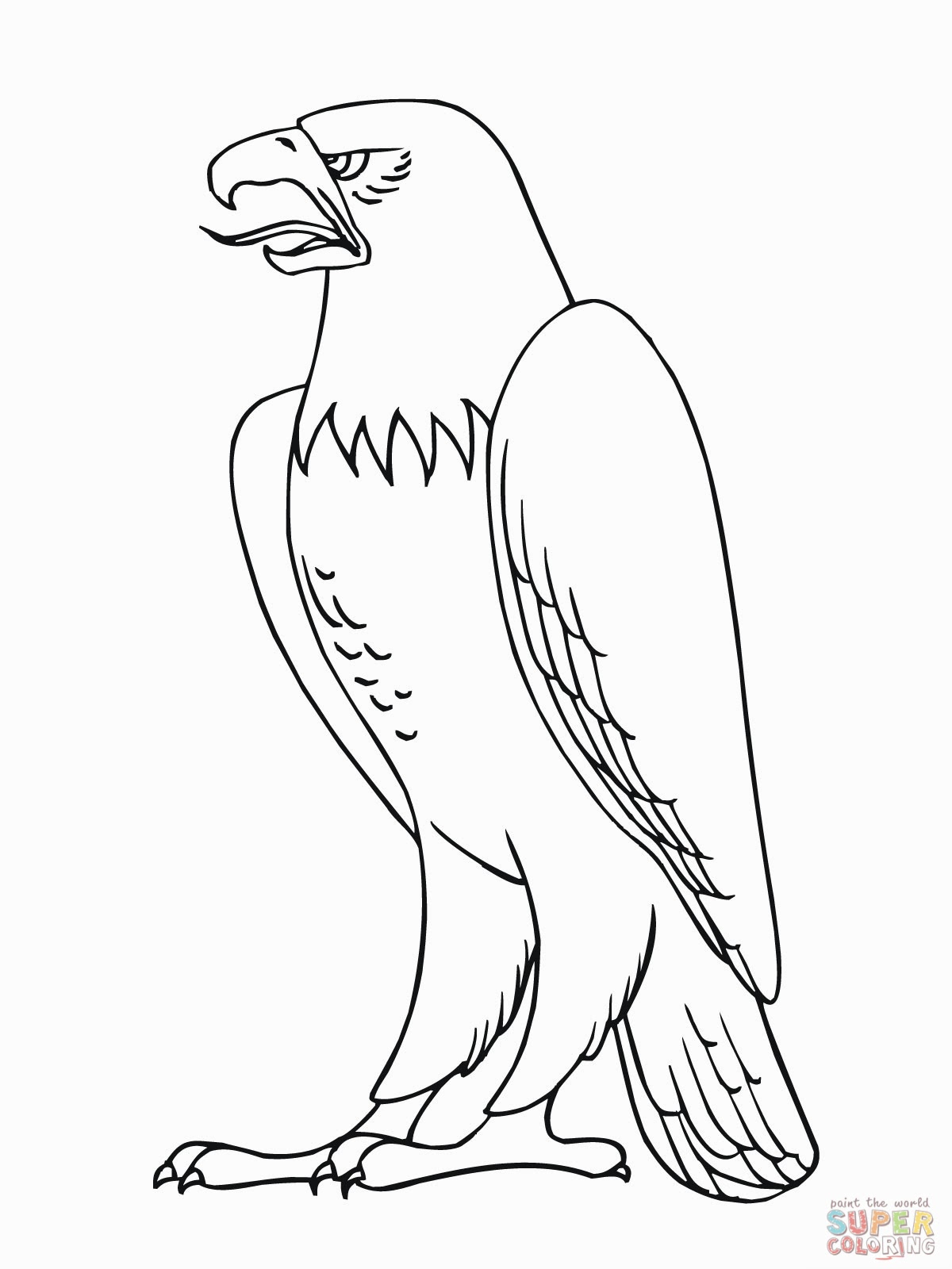 coloring pages of bald eagles bald eagle of the mountain coloring page netart pages bald coloring of eagles