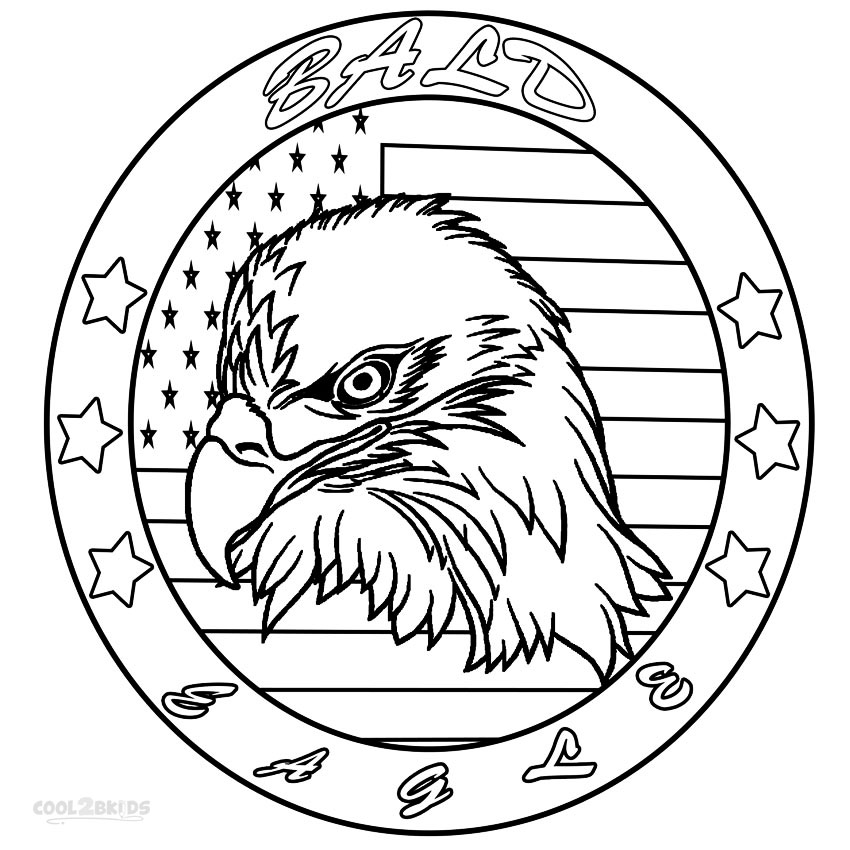 coloring pages of bald eagles printable bald eagle coloring pages for kids cool2bkids coloring pages eagles bald of
