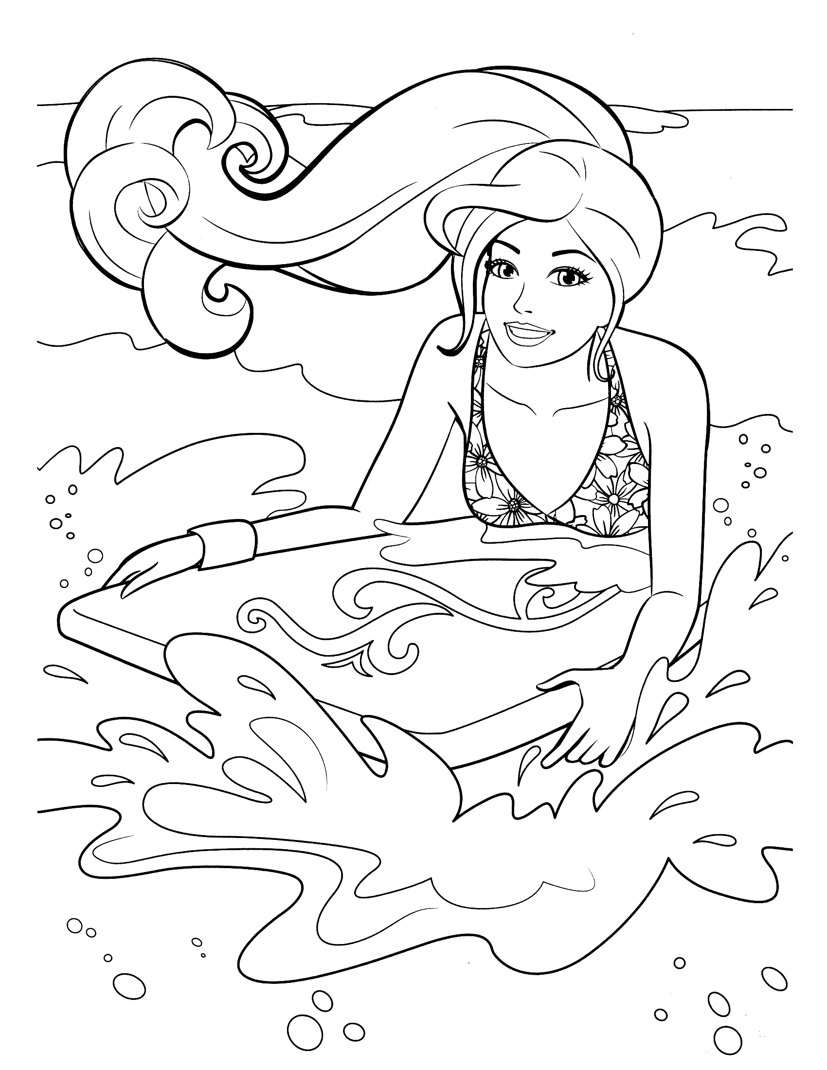 coloring pages of barbie 40 barbie coloring pages for kids of pages coloring barbie