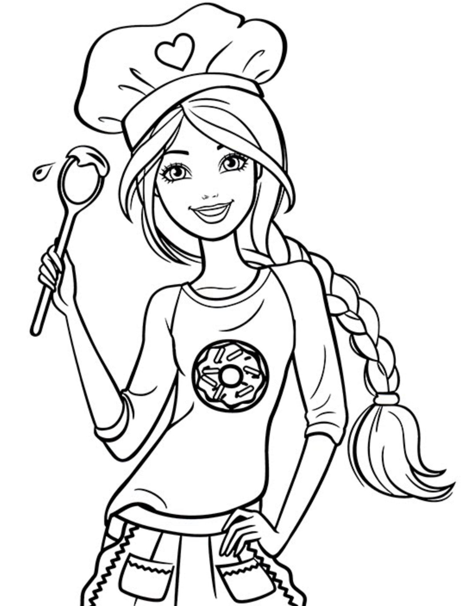 coloring pages of barbie barbie chelsea free coloring pages barbie pages coloring of