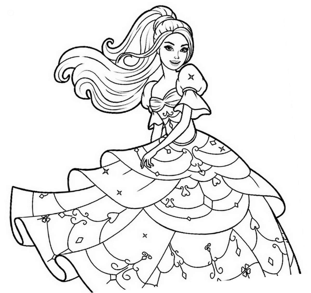 coloring pages of barbie barbie coloring pages of barbie pages coloring
