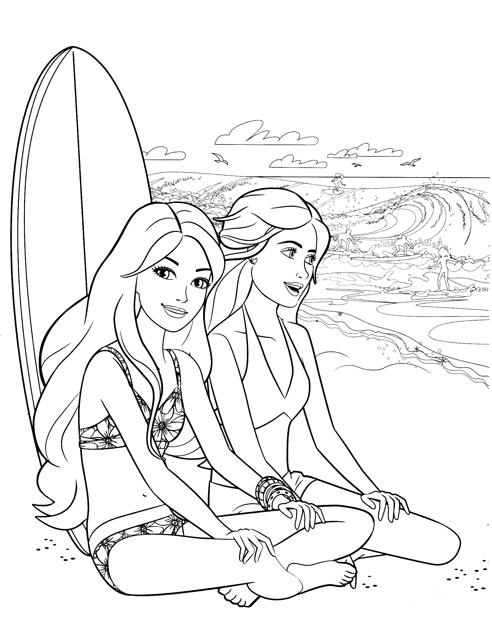 coloring pages of barbie best 25 coloring pages for girls barbie home family pages barbie of coloring