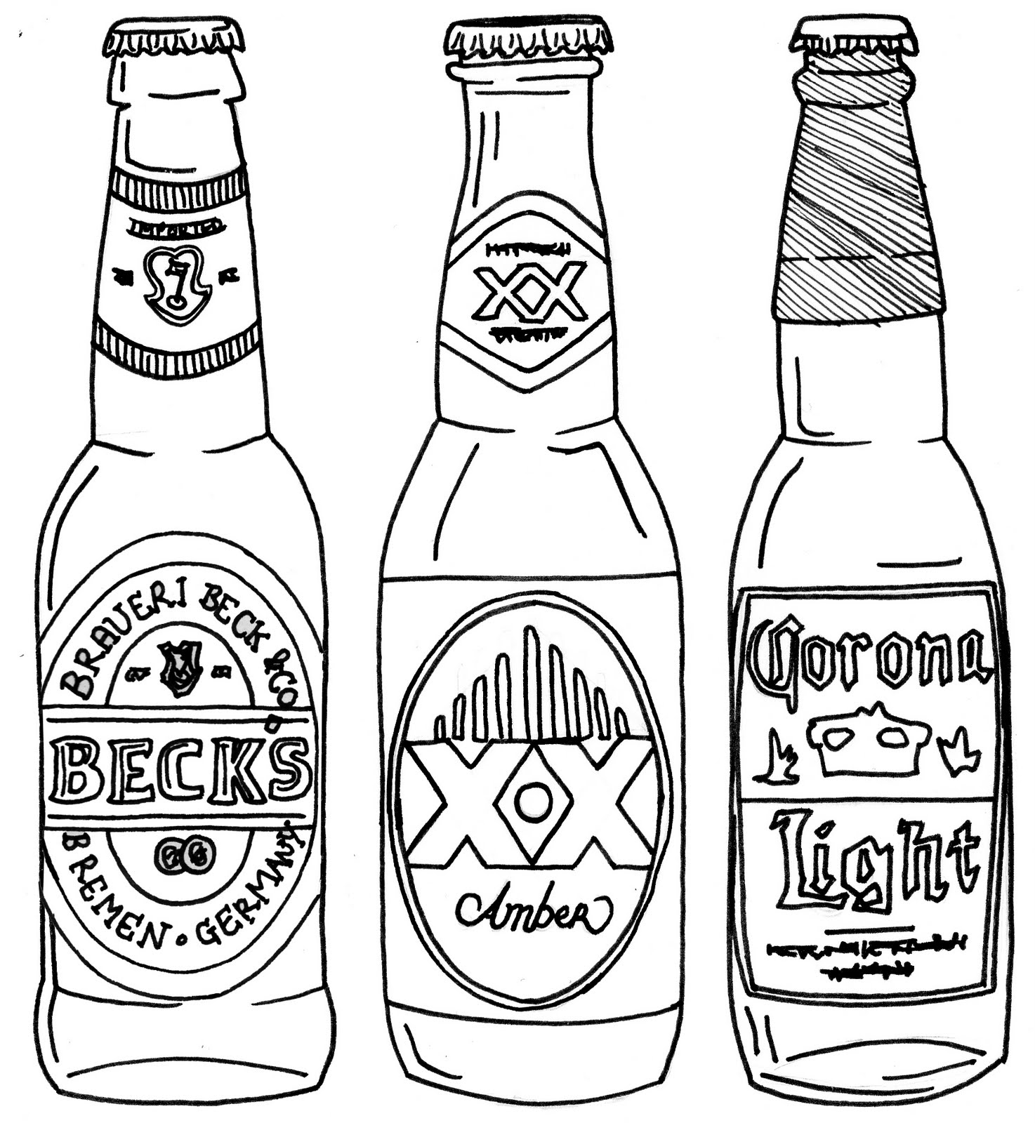 coloring pages of bottles soda pop bottle coloring page sketch coloring page of coloring pages bottles