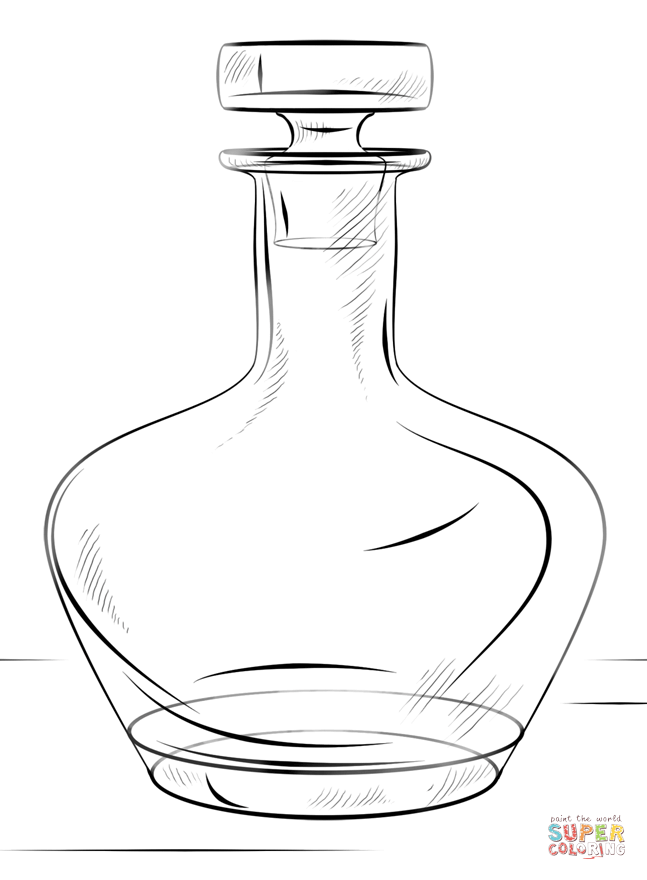 coloring pages of bottles water bottle and glass coloring page free printable of bottles coloring pages