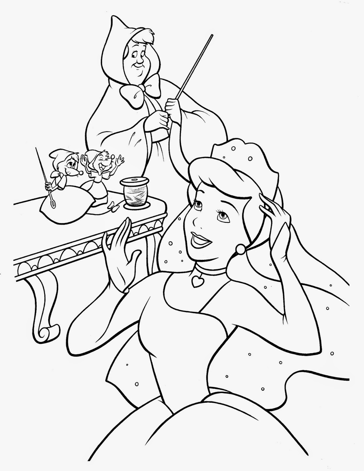 coloring pages of cinderella disney cinderella coloring pages getcoloringpagescom coloring of pages cinderella