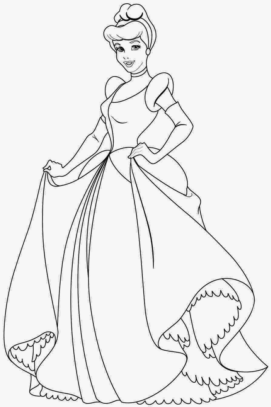 coloring pages of cinderella disney coloring pages cinderella of pages coloring