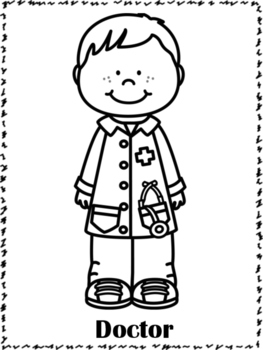 coloring pages of community helpers community helpers coloring pages by countless smart helpers pages community coloring of