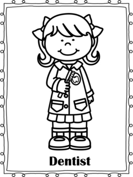 coloring pages of community helpers community helpers emergent reader coloring pages simple coloring community of pages helpers