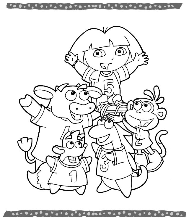 coloring pages of dora books coloring pages dora dora pages coloring of