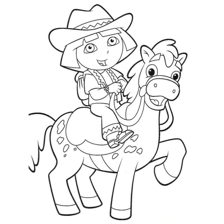 coloring pages of dora cartoons coloring pages dora the explorer coloring pages dora of coloring pages