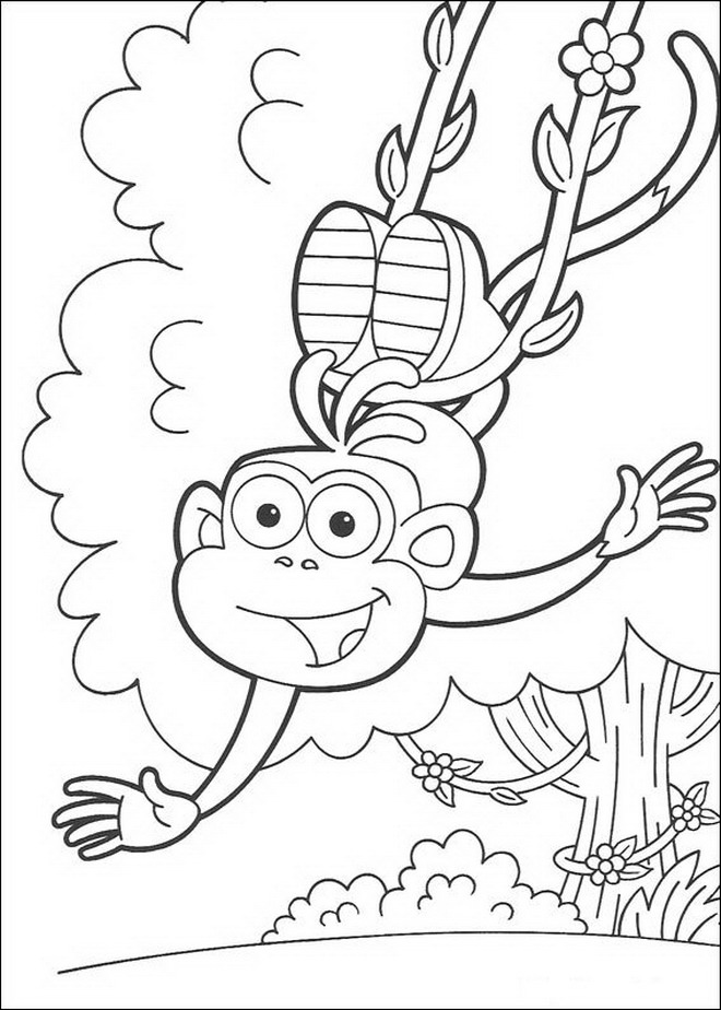 coloring pages of dora dora free colouring pages coloring of pages dora