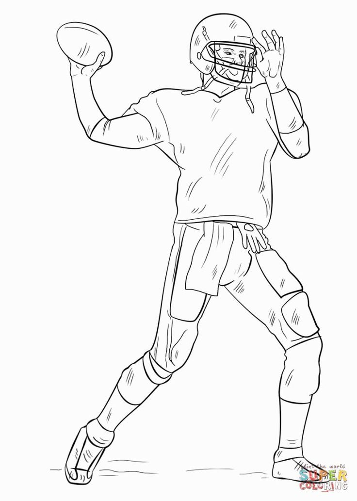 coloring pages of football players 1000 images about football on pinterest football players coloring of football pages