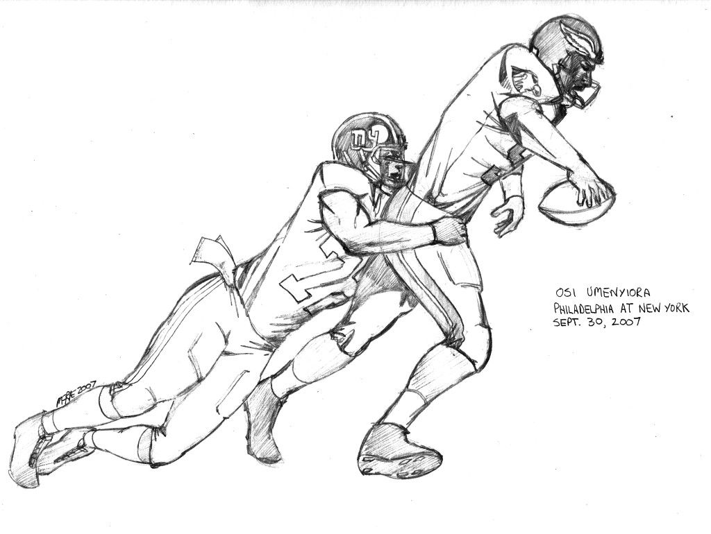 coloring pages of football players sketches of football players tackling coloring pages of coloring football players pages