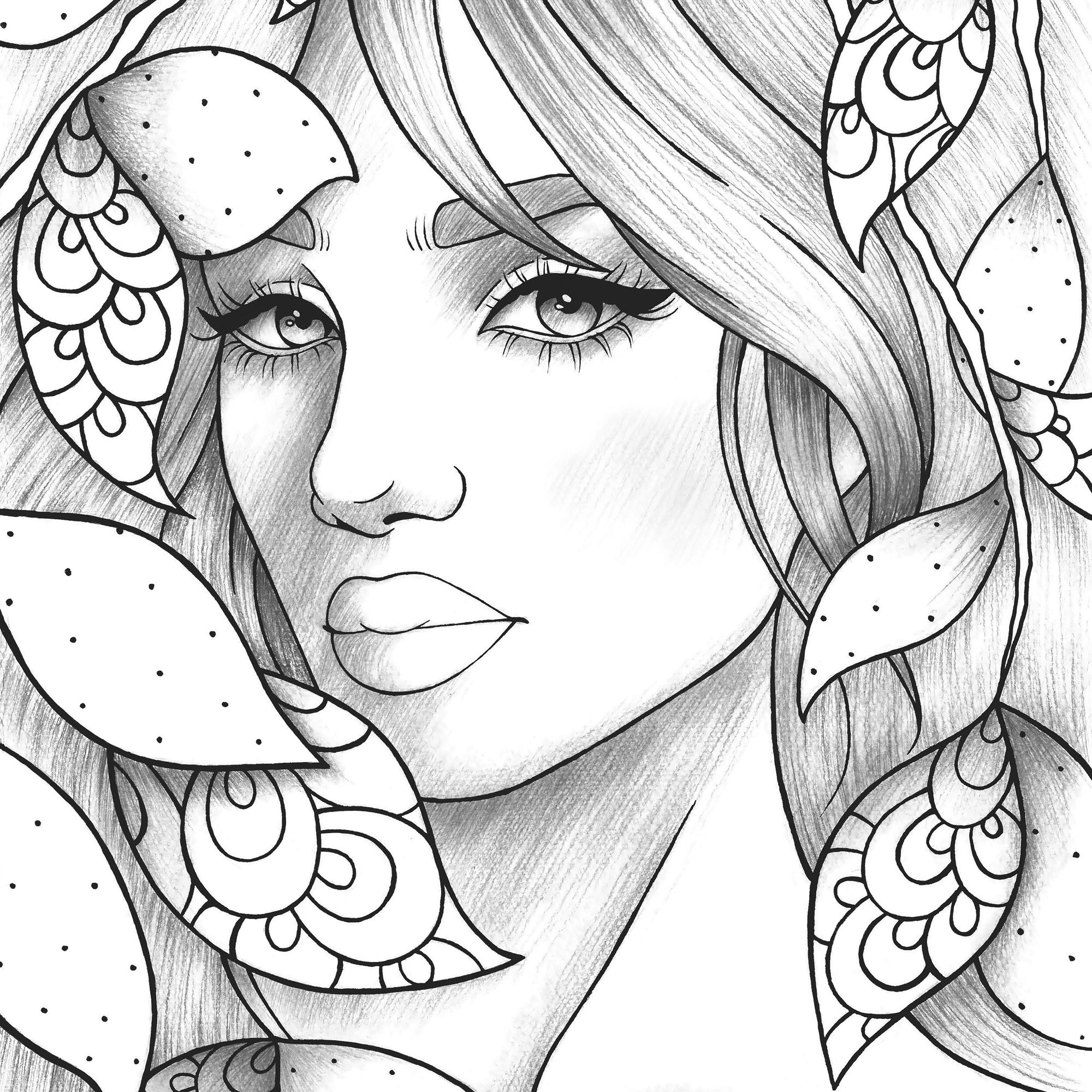 coloring pages of girls realistic 25 best ideas realistic girl coloring pages home of coloring realistic pages girls