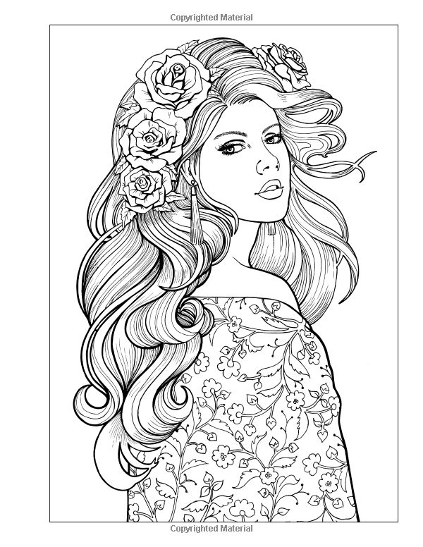 coloring pages of girls realistic beautiful woman coloring pages realistic coloring pages realistic coloring girls pages of
