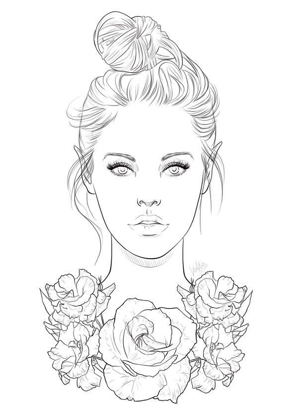 coloring pages of girls realistic coloring pages of girls realistic coloring pages of realistic girls