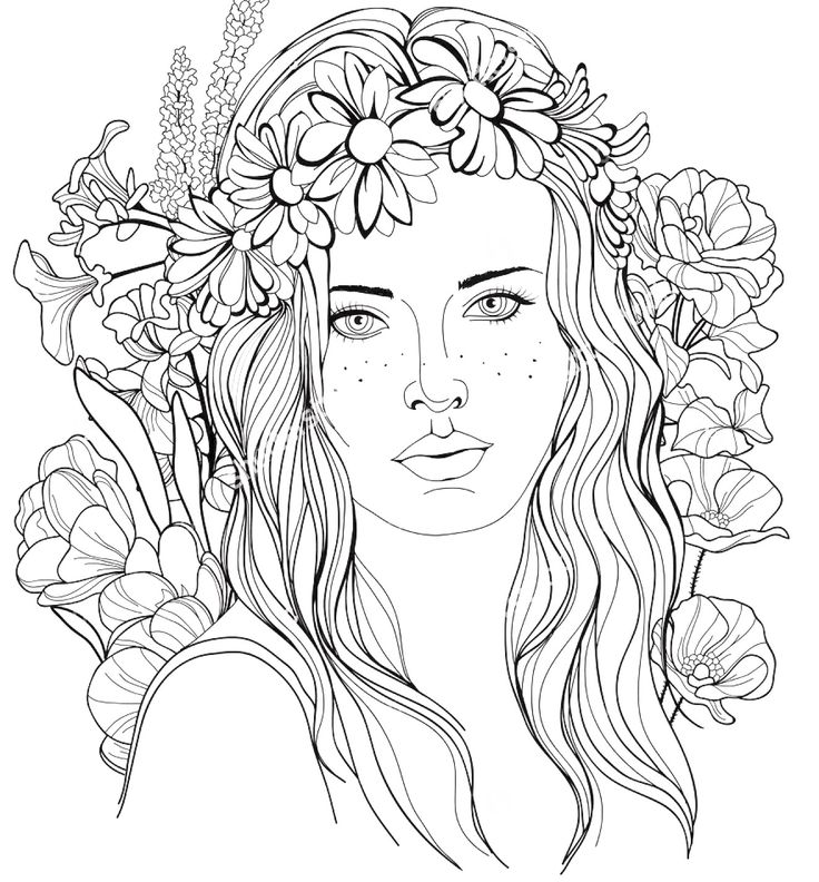 coloring pages of girls realistic free coloring pages of famous women coloring home realistic girls pages of coloring
