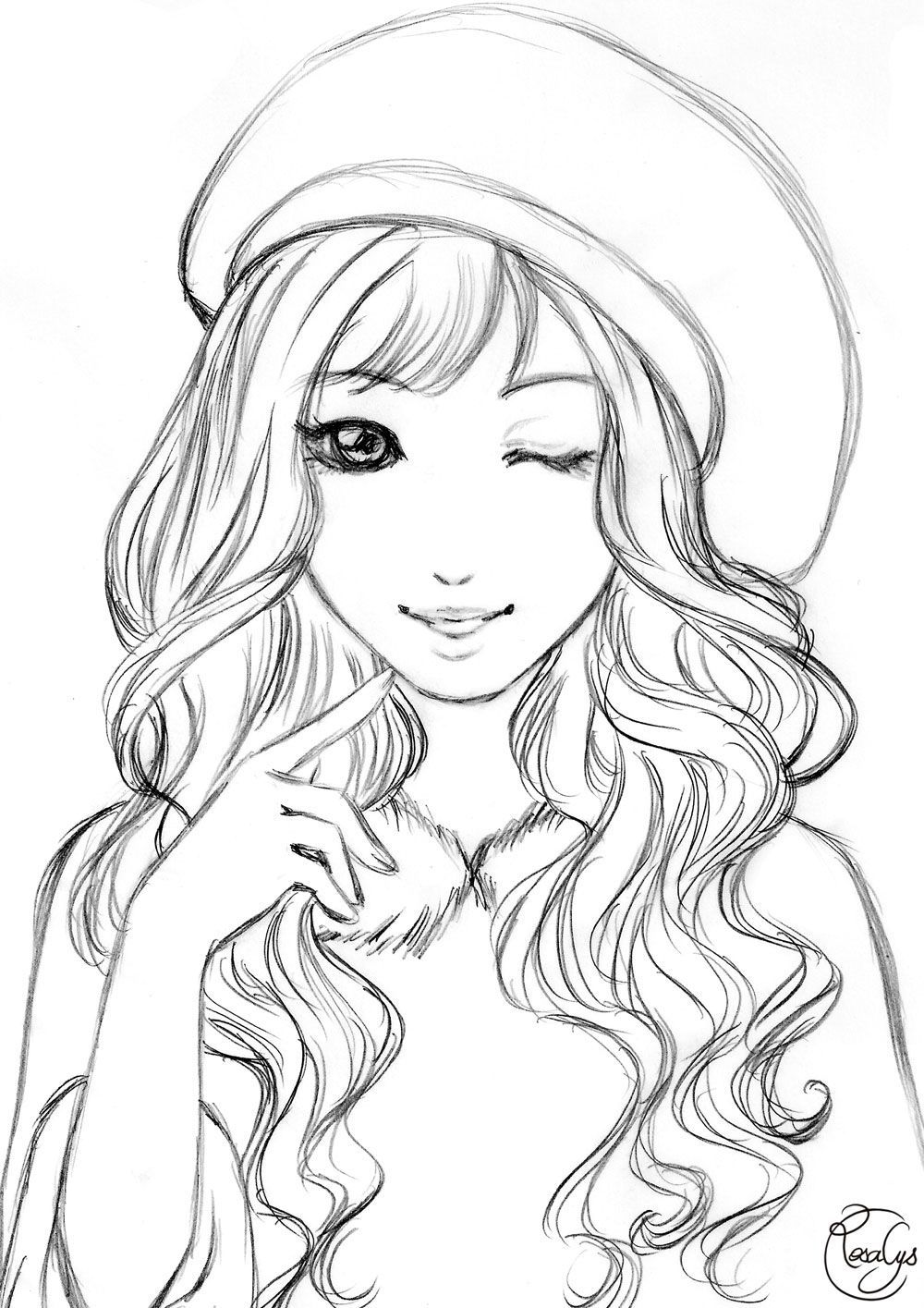 coloring pages of girls realistic outline of girl coloring pages png image transparent png coloring girls of realistic pages