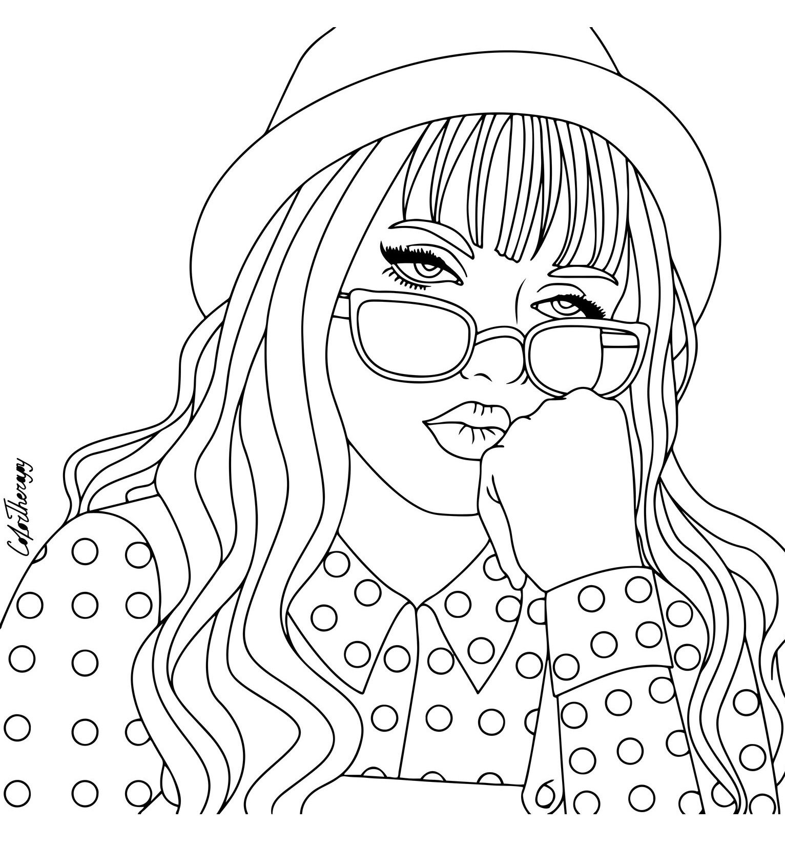 coloring pages of girls realistic teenage girl drawing at getdrawings free download pages of coloring realistic girls