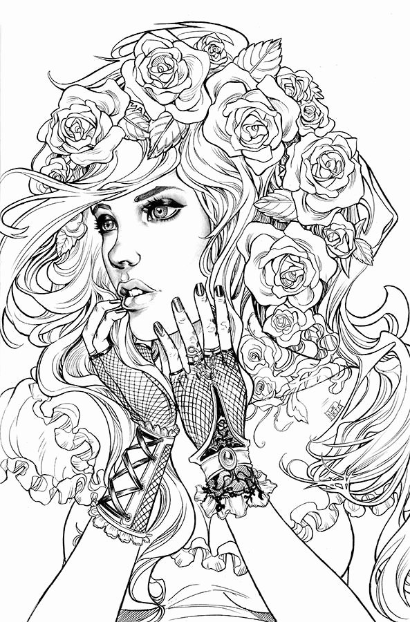 coloring pages of girls realistic the 25 best ideas for realistic girl people coloring pages realistic pages girls coloring of