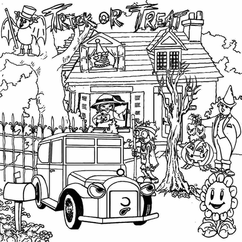 coloring pages of haunted houses free printable haunted house coloring pages for kids houses of coloring haunted pages