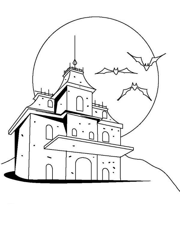 coloring pages of haunted houses house broom colouring pages sketch coloring page houses of coloring pages haunted