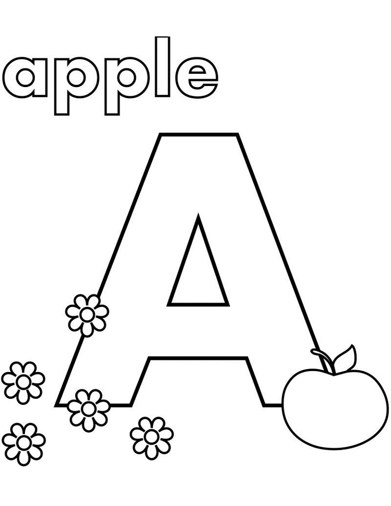 coloring pages of letter a best coloring pages of alphabet letter a 4 ur break letter a coloring of pages